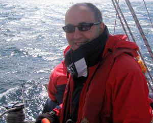 Roy sailing