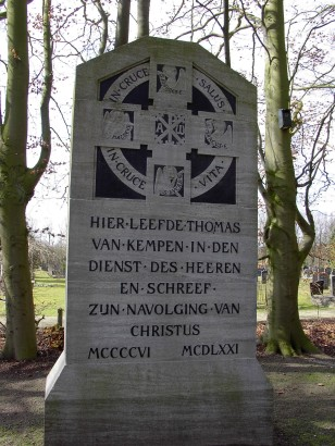 Zwolle_Begraafplaats_Bergklooster_Monument_Thomas_a_Kempis