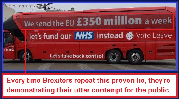 Brexit 350 million lie